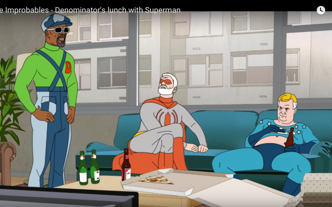 DENOMINATOR'S LUNCH WITH SUPERMAN